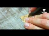 Изготовление визиток из кожи